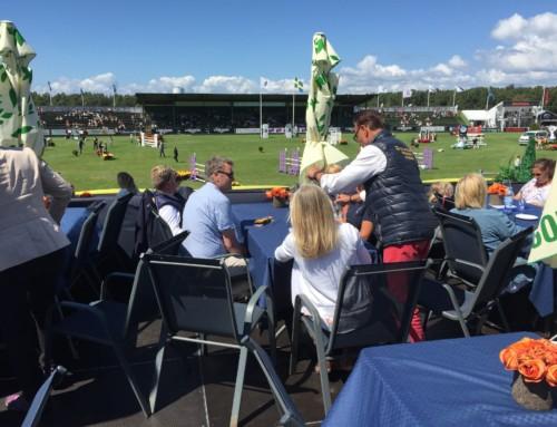 Medlemmarna bjuds på VIP-lunch under Falsterbo